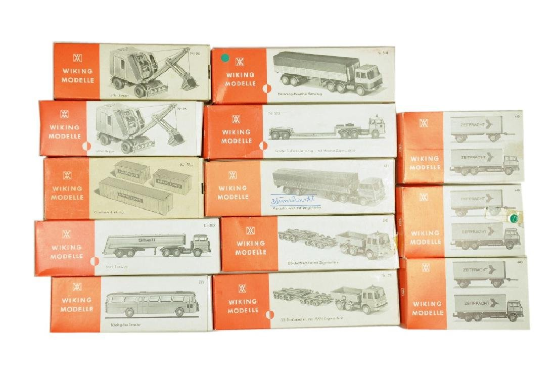Konvolut 13 leere Originalkartons der 70er Jahre