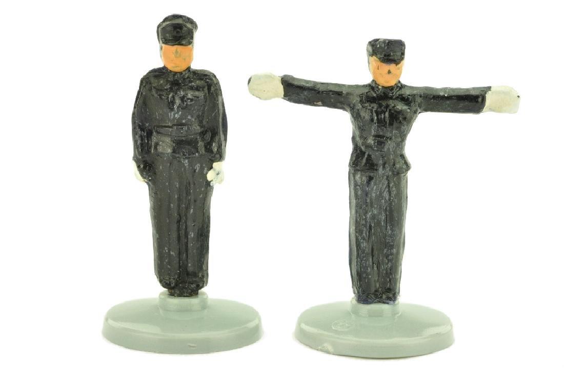 Konvolut 2 Polizisten (schwarz)
