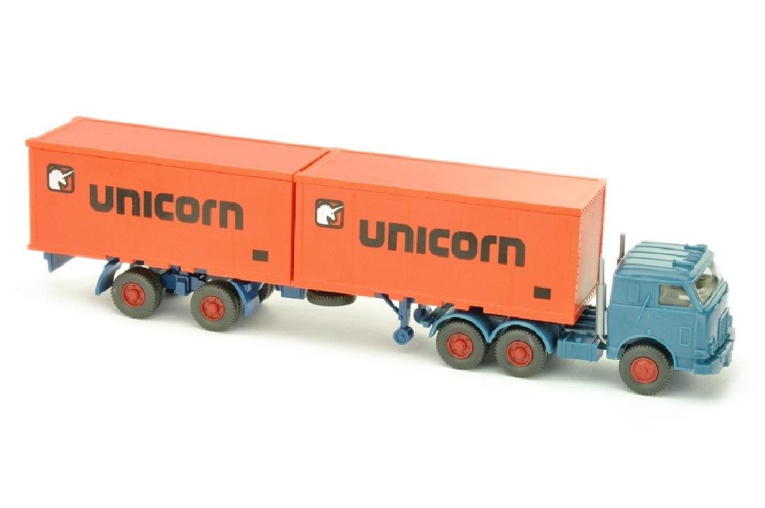 Unicorn/B - US-Zugmaschine, azurblau