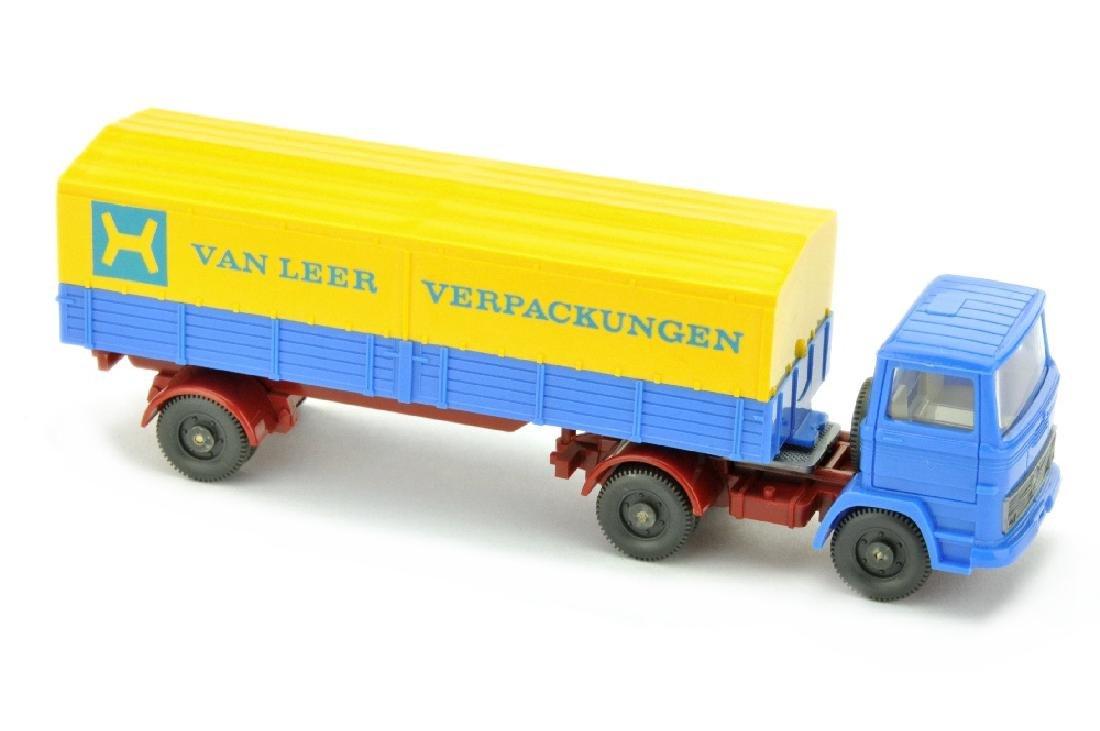 Van Leer - Pritschen-Sattelzug MB 1317