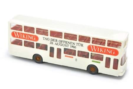 """Wiking - Doppeldecker """"Tag der offenen Tuer 1986"""""""