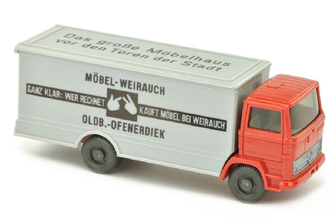 Weirauch - Koffer-LKW MB 1317