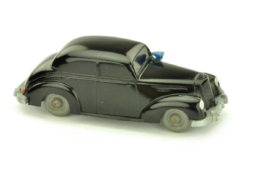 Polizeiwagen Mercedes 220, schwarz