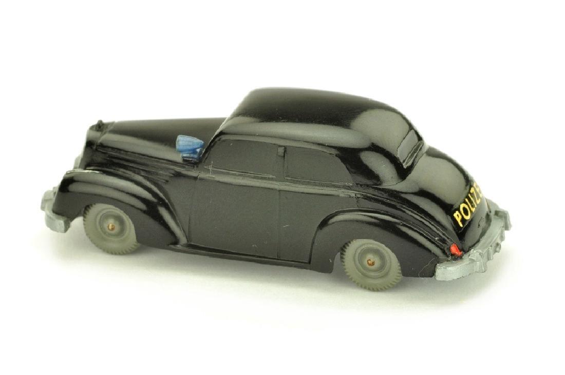 Polizeiwagen Mercedes 220, schwarz - 2