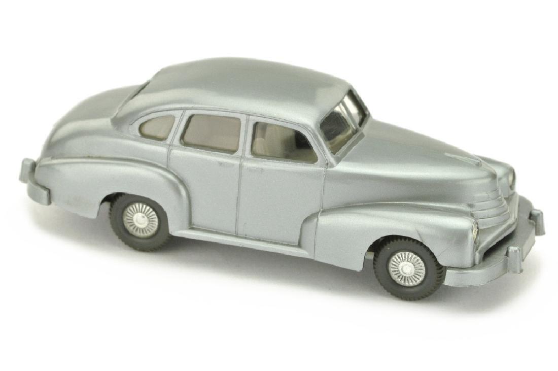 Opel Kapitaen 1951 Veteran, silbern