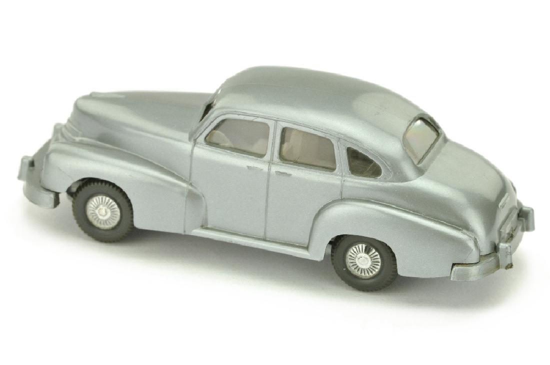 Opel Kapitaen 1951 Veteran, silbern - 2
