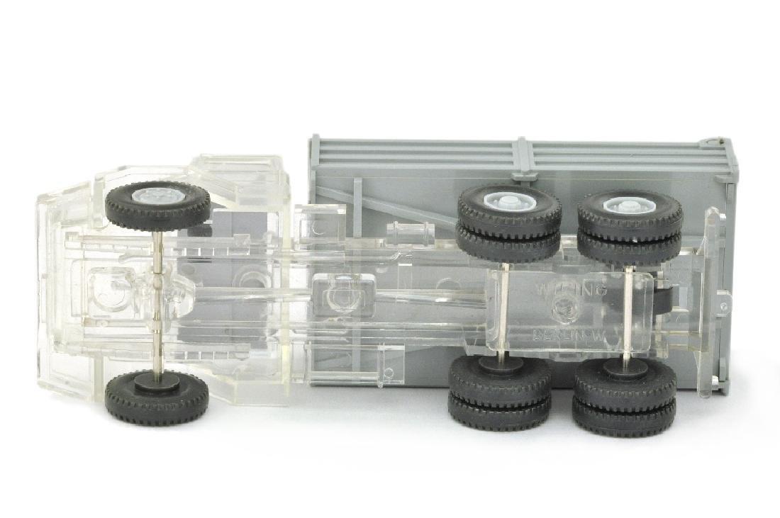 Hochpritschenkipper Magirus-Deutz, transparent - 3