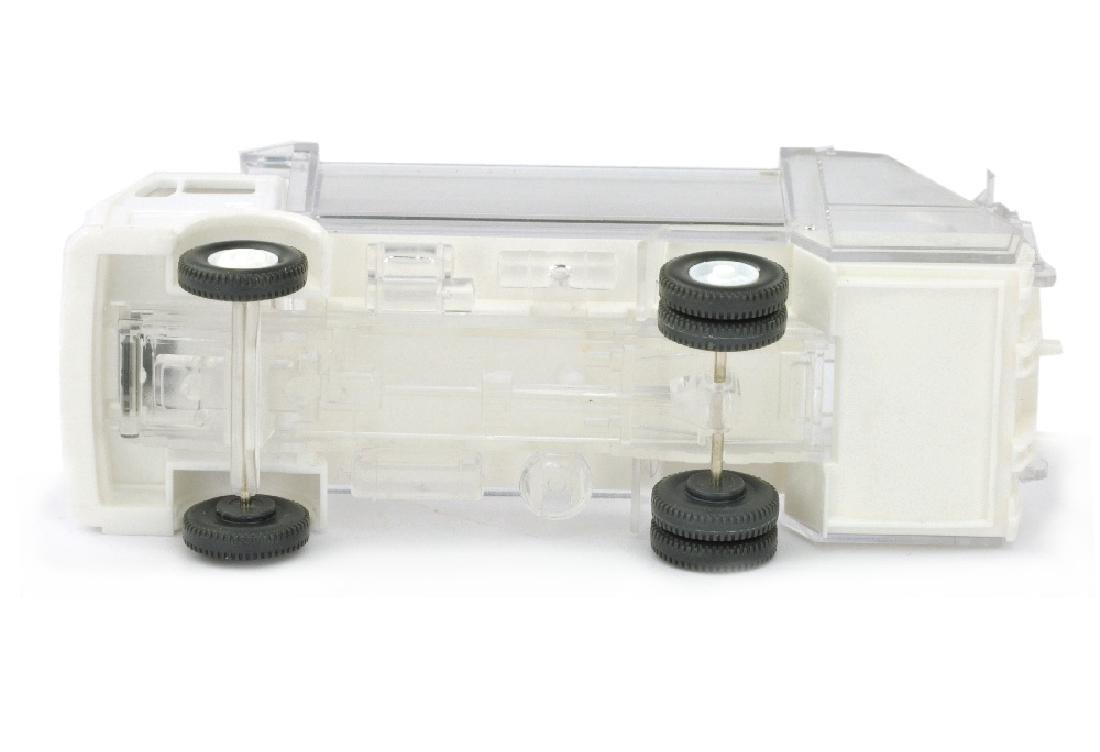 Pressmuellwagen MB 1619, weiss/transparent - 3
