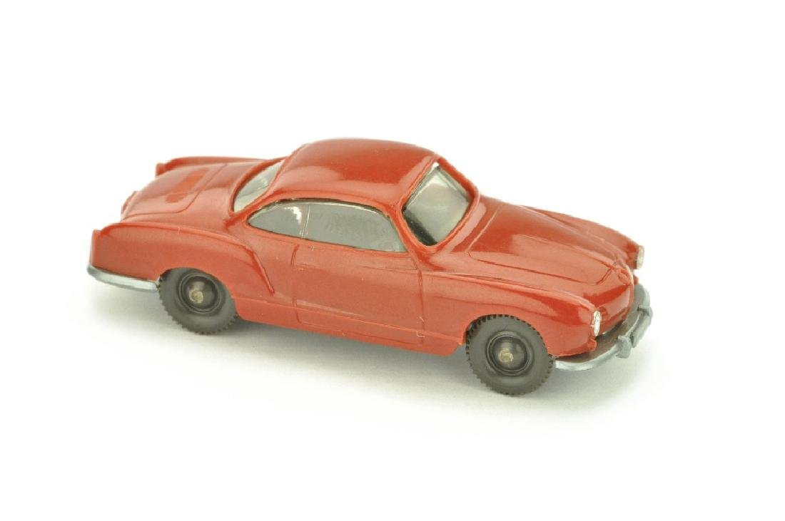 VW Karmann Ghia, weinrot (mit Stift)