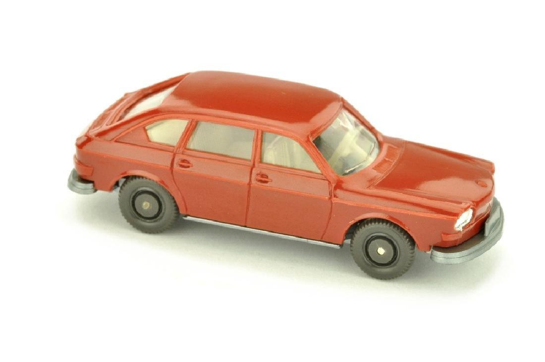 VW 411, weinrot (einteiliger Scheinwerfer)