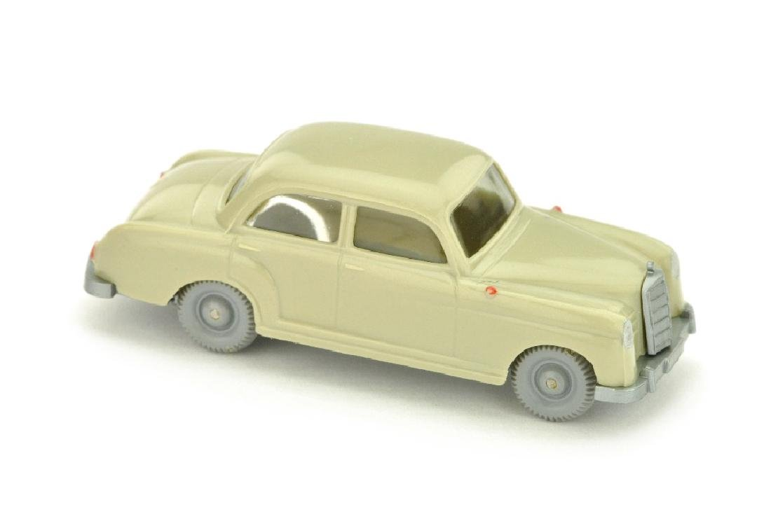 Mercedes 180, hellgelbgrau
