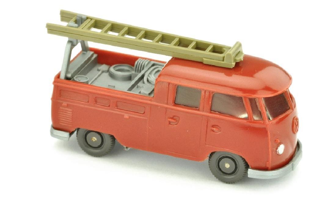 VW T1 Montagewagen, weinrot