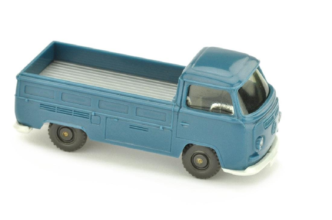 VW T2 Pritsche, azurblau