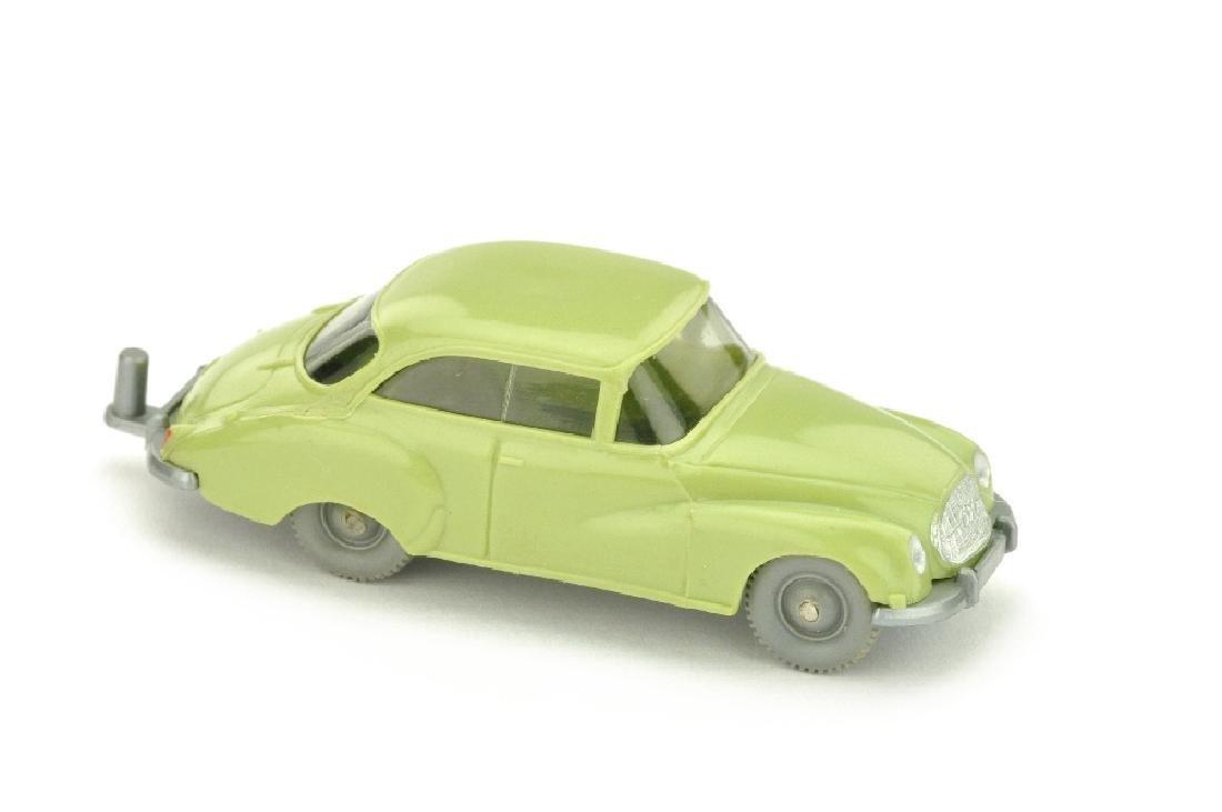 DKW Coupe, lindgruen (mit Zughaken)