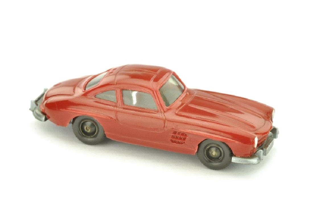 Mercedes 300 SL Coupe, weinrot