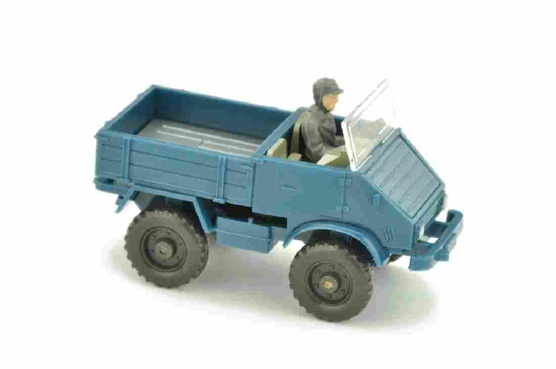Unimog offen (Typ 4), azurblau
