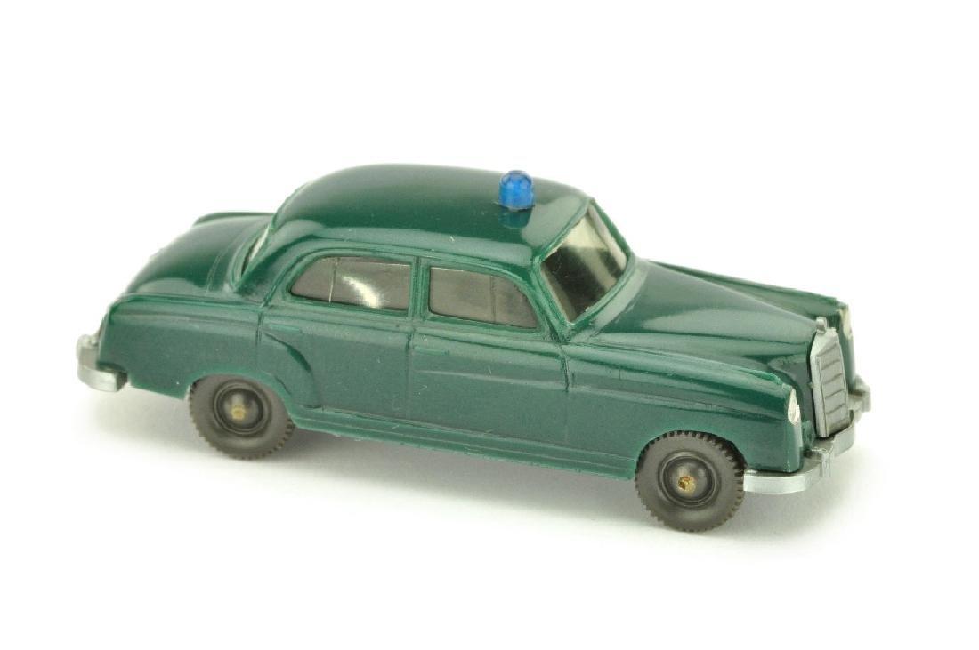 Polizeiwagen MB 220, blaugruen
