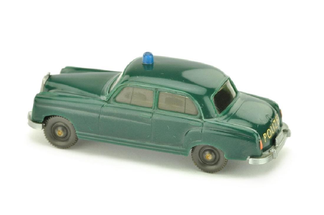 Polizeiwagen MB 220, blaugruen - 2