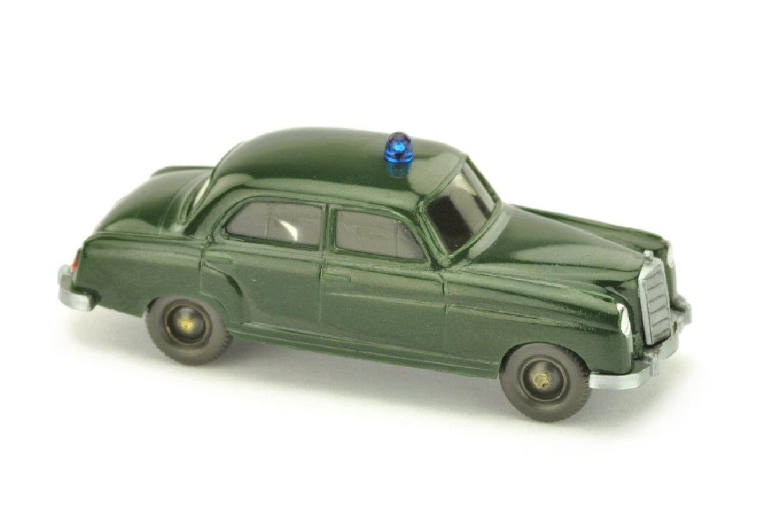 Polizeiwagen MB 220, tannengruen