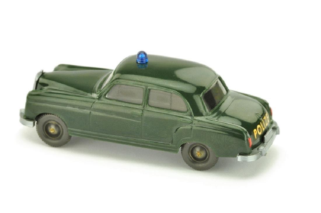 Polizeiwagen MB 220, tannengruen - 2