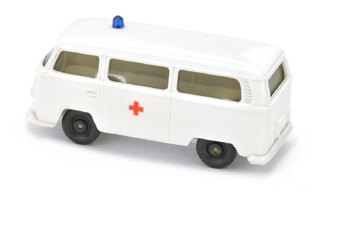 VW T2 Rotkreuz ohne Aufbau, weiss - 2
