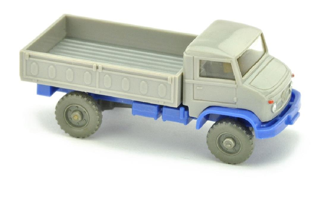Unimog S zivil, d'-silbergrau/ultramarin