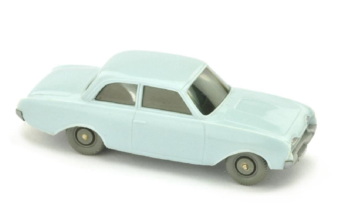 Ford 17 M Badewanne, waessrigblau