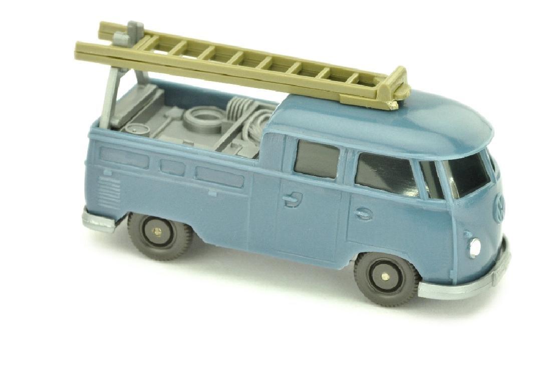 VW T1 Montagewagen, mattgraublau