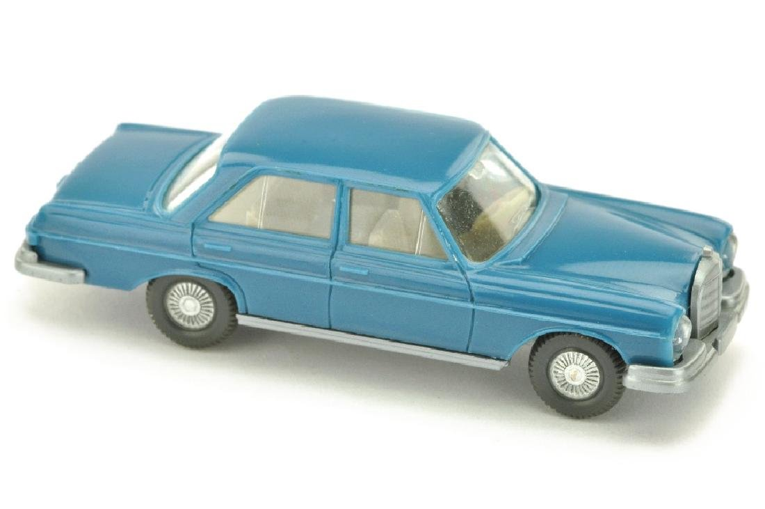 Mercedes 280 S, azurblau (Lenkrad integriert)