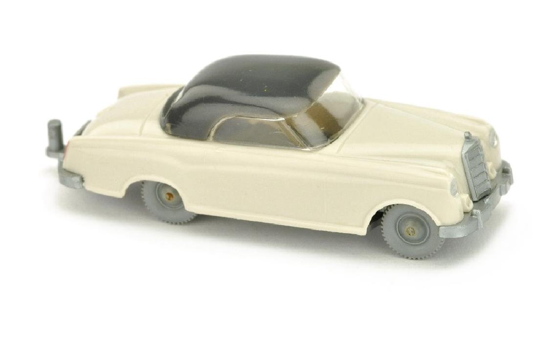 Mercedes 220 Coupe, braunweiss/anthrazit