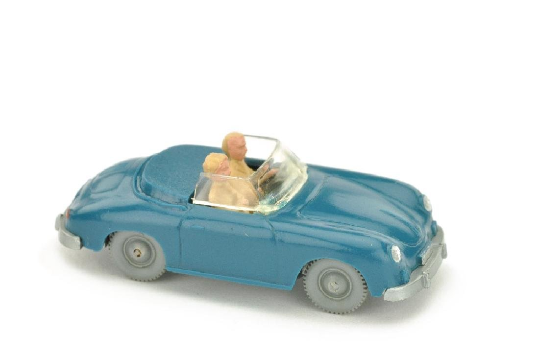Porsche 356 Cabrio, azurblau