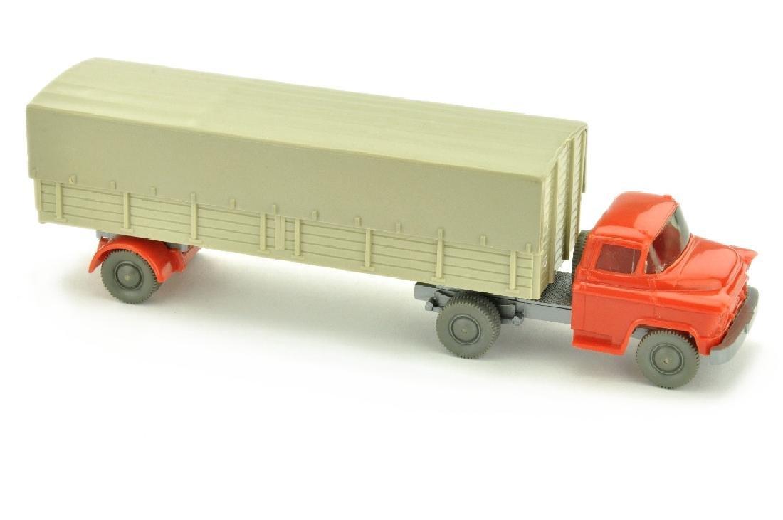 Pritschen-SZ Chevrolet, orangerot/h'gelbgrau