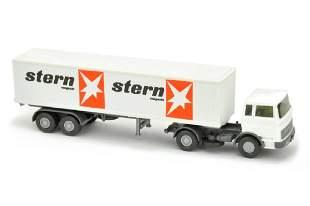 Koffer-Sattelzug MB 1620 Stern
