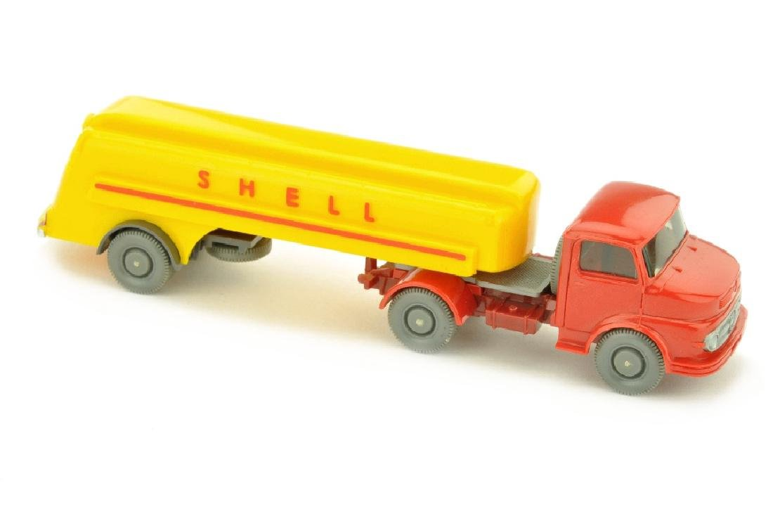 Shell-Tanksattelzug MB 1413