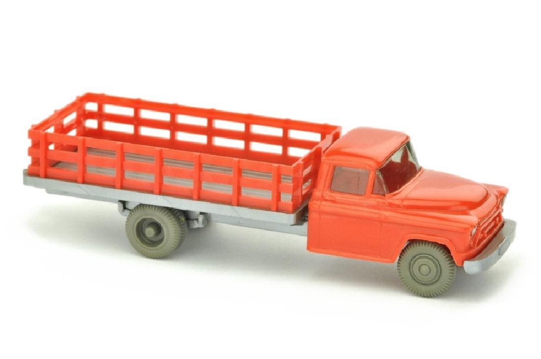 Chevrolet durchbrochener Aufbau, orangerot