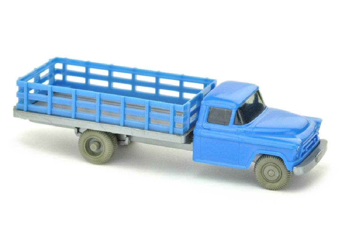 Chevrolet durchbrochener Aufbau, himmelblau