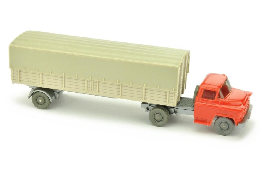 Chevrolet Pritschen-Sattelzug, orangerot/h'gelbgr
