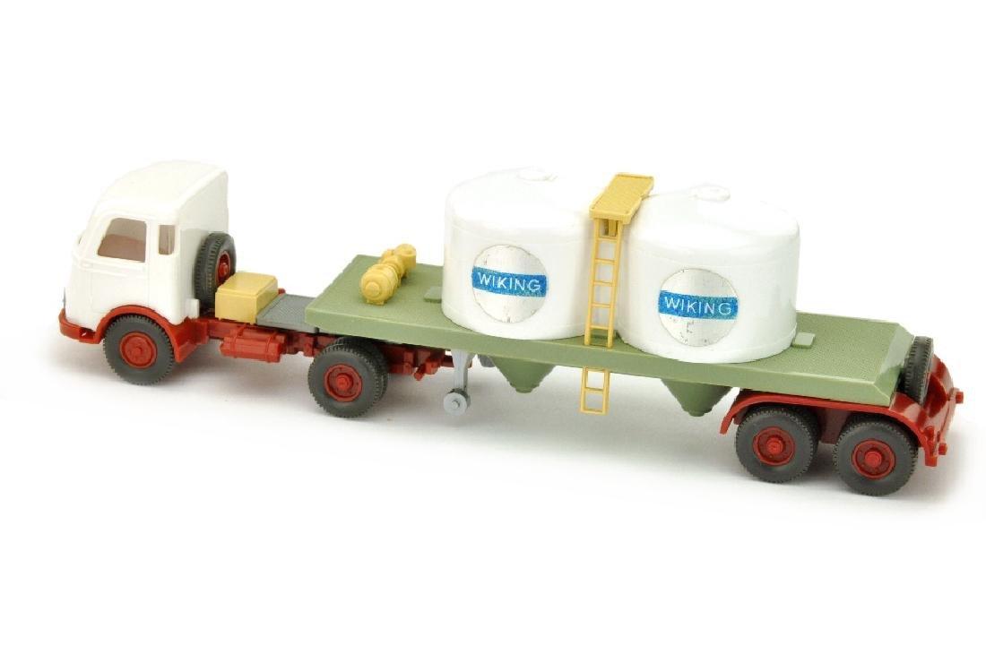 Chemikalien-Tankzug Pullman Wiking, weiss - 2