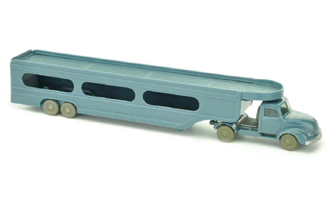 PKW-Transporter Magirus, mattgraublau