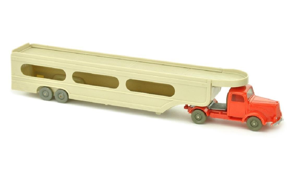 PKW-Transporter MB 5000, orangerot/rotelfenbein