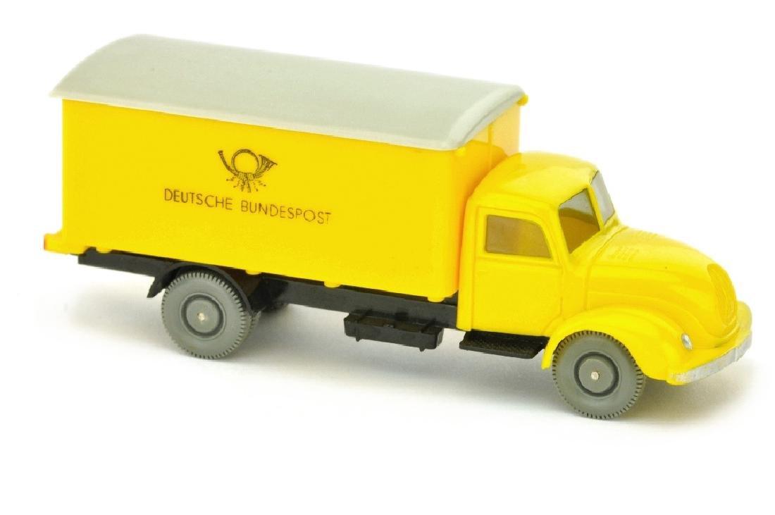 Postwagen Magirus Bundespost, gelb/schwarz