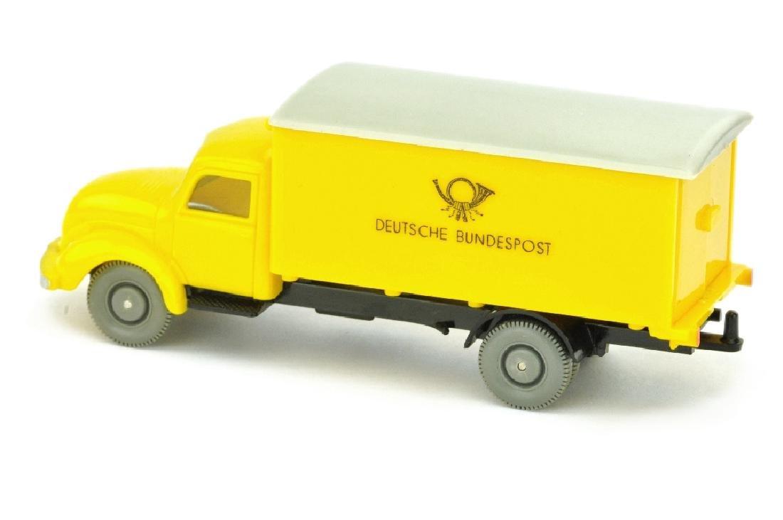 Postwagen Magirus Bundespost, gelb/schwarz - 2
