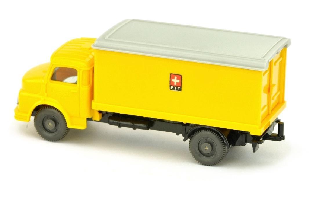 """Postwagen MB 1413 (mit Luefter) """"PTT"""" - 2"""