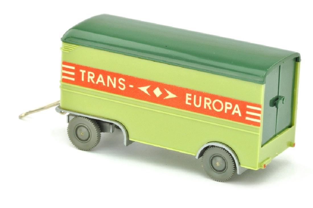 Moebelanhaenger Trans Europa, lindgruen - 2