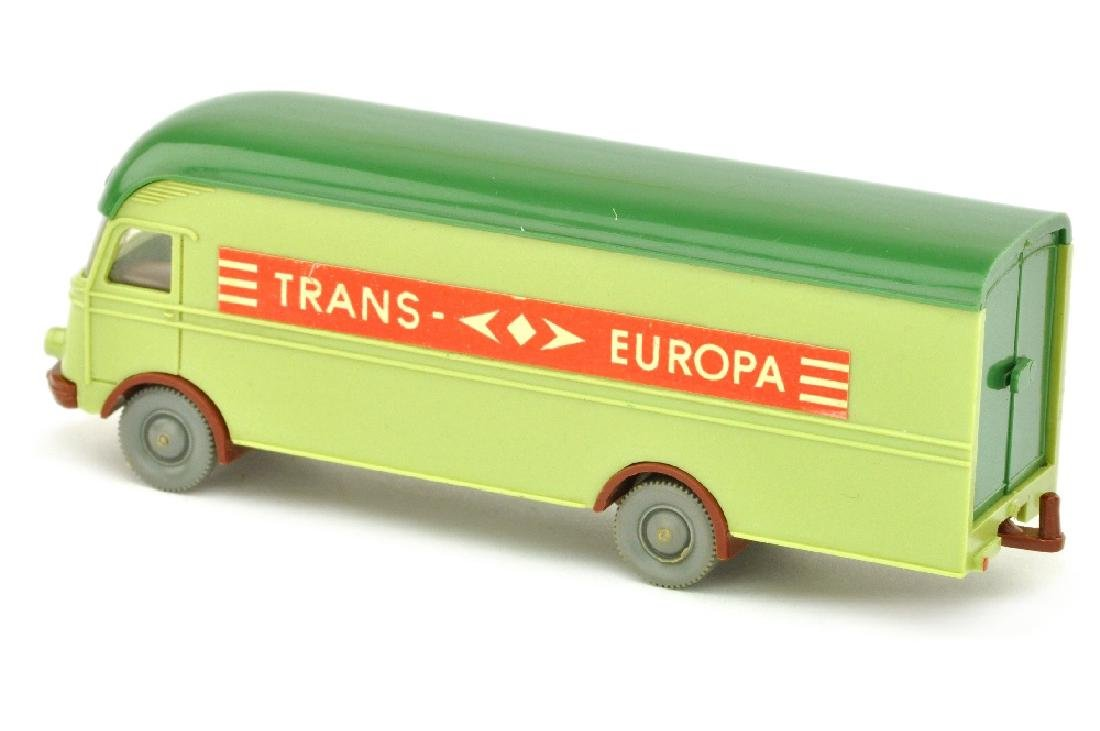 MB 312 Trans Europa, lindgruen - 2