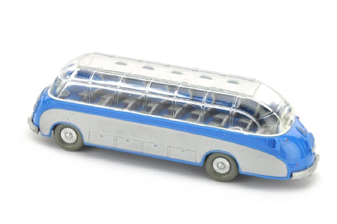 Setra-Bus, himmelblau - 2
