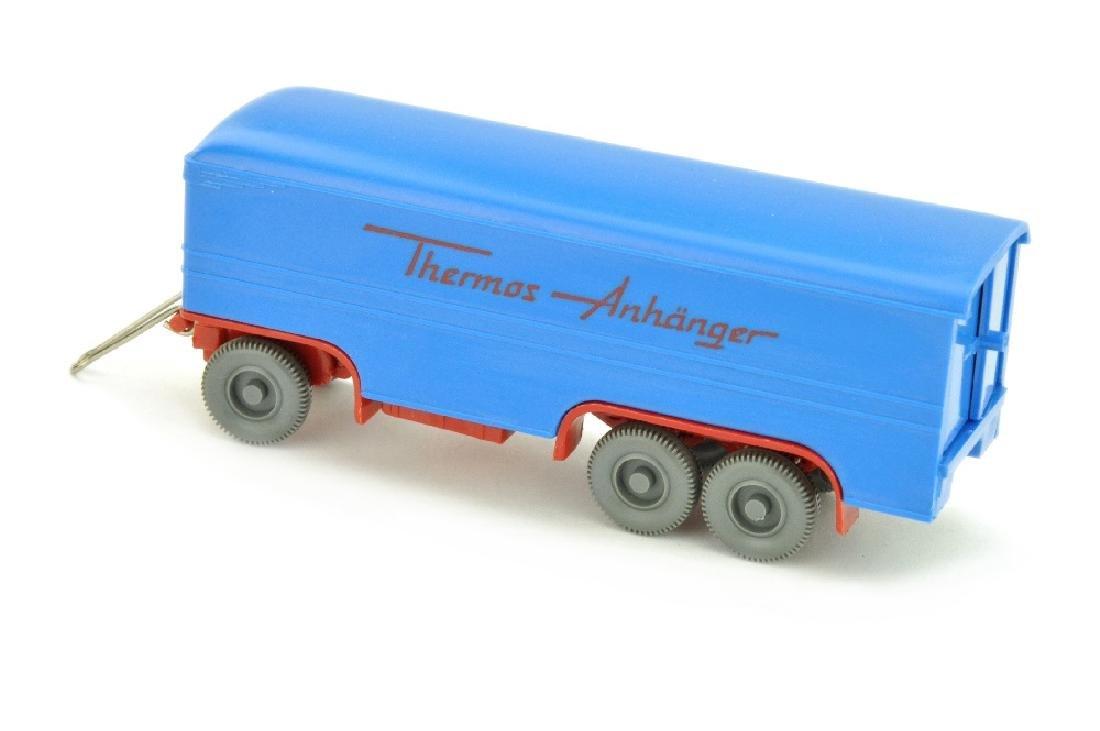 Thermos-Anhaenger, himmelblau/rot - 2