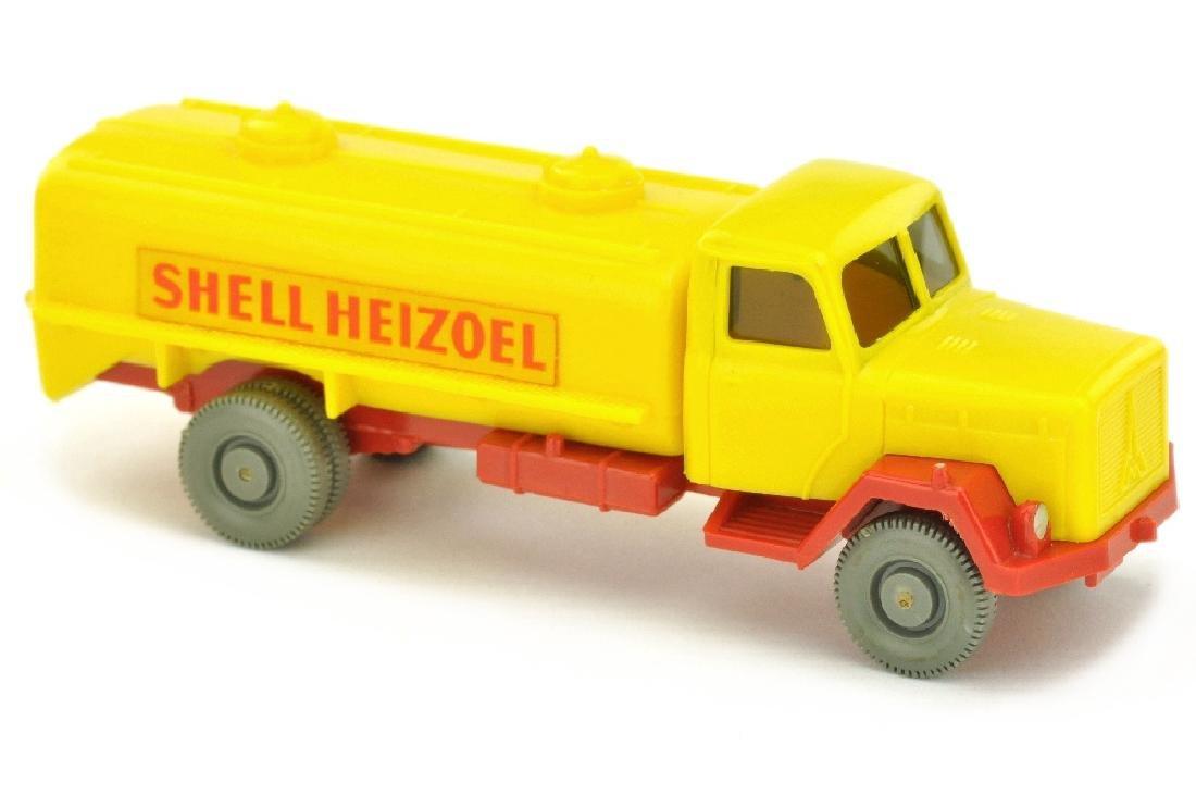 Tankwagen Saturn Shell Heizoel, gelb