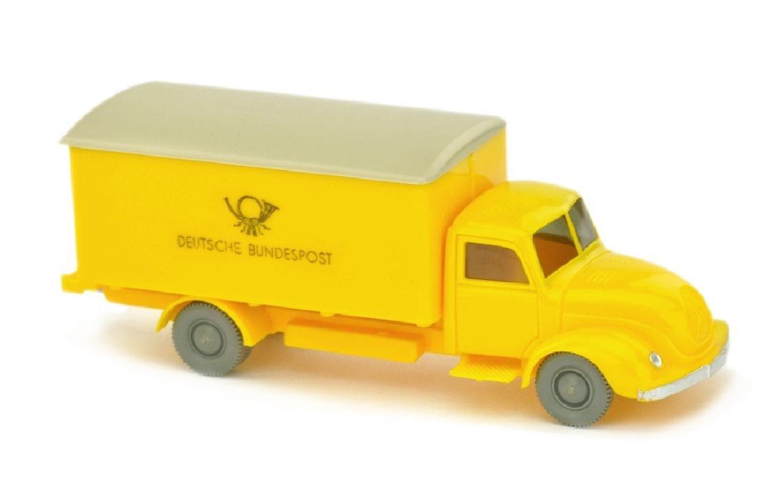 Postwagen Magirus Bundespost, gelb