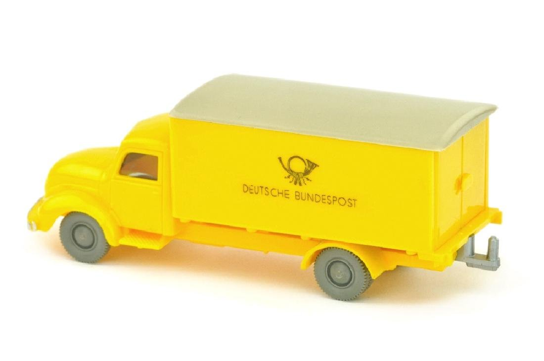 Postwagen Magirus Bundespost, gelb - 2